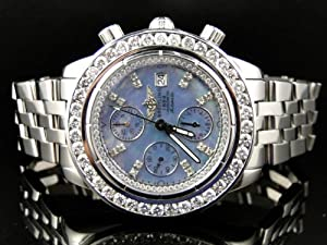 Breitling Evolution A13356 Diamond Watch (6 Ct)