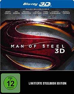 Man of Steel 3D Steelbook (exklusiv bei Amazon.de) [3D Blu-ray] [Limited Edition]