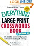 The Everything Large-Print Crosswords...