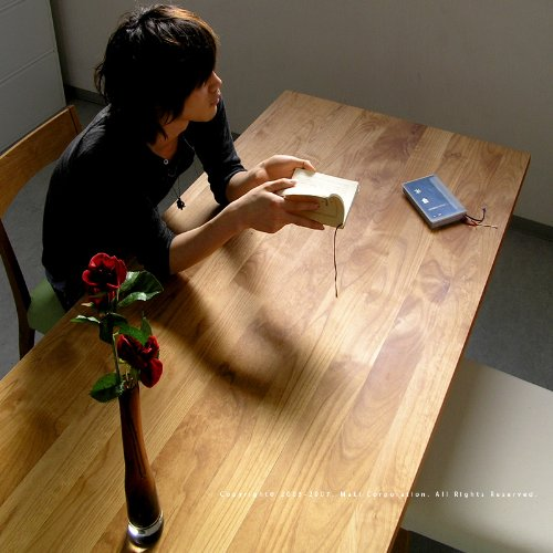 Ikususu(イクスス)無垢材テーブル IXT-1500 ダイニングテーブル