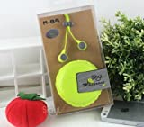 Domire Earphones / Headphones For Apple iPad iPod iPhone 5,4,4s,3g,3 With Remote, Mic & Volume Controls