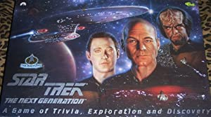 Star Trek The Next Generation: A Game of Trivia Exploration and Discovery Board Game