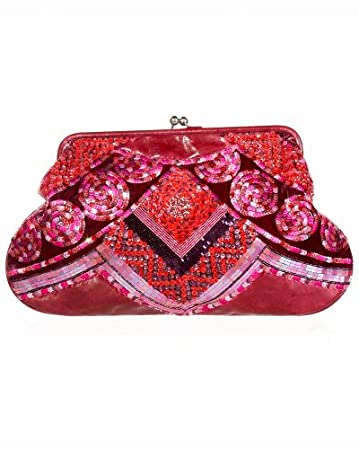 bebe.com Embellished Clutch