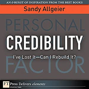Credibility Audiobook