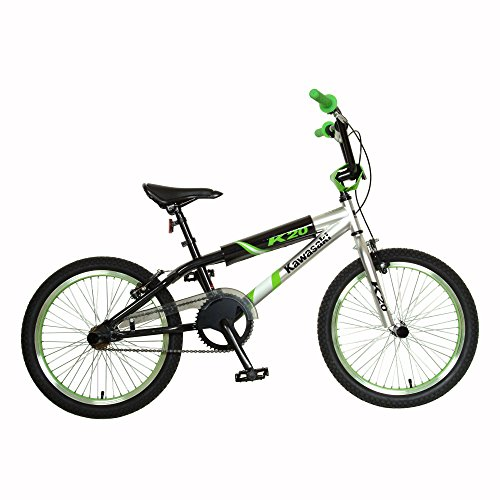 Kawasaki KX20 Boy's Bike (20-Inch Wheels) (Bmx Rims 20 Inch Front And Back compare prices)