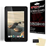 [Pack of 5] TECHGEAR® Acer Iconia B1-710 B1-711 CLEAR LCD Screen Protectors With Cleaning Cloth & Application Card