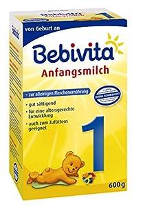 Bebivita 1 Anfangsmilch 1121, 4er Pack (4 x 600 g Packung)