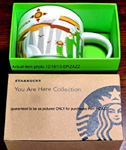 Starbucks You Are Here Series 2013 Arizona Coffee Mug (011024667)