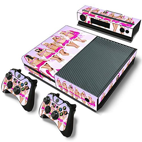 Mod Freakz Xbox One Console Vinyl Skin and Controller Skin Naked Xmas Girls (Xbox One Console Mods compare prices)