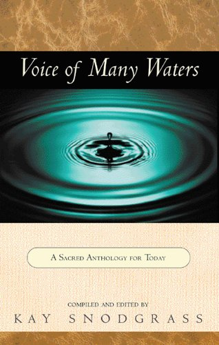 Voice of Many Waters: A Sacred Anthology for Today