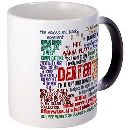 CafePress-Best Dexter Citazioni-Tazza, Ceramica, Black Color Changing, small