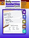 img - for Daily Handwriting Practice: Contemporary Cursive book / textbook / text book