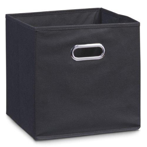 zeller-14113-aufbewahrungsbox-vlies-schwarz