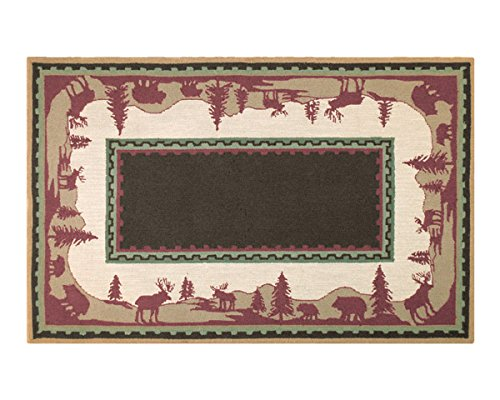 The Rug Market Home On The Range Area Rug  Size 5'x8'