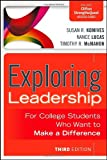 img - for Exploring Leadership: For College Students Who Want to Make a Difference book / textbook / text book
