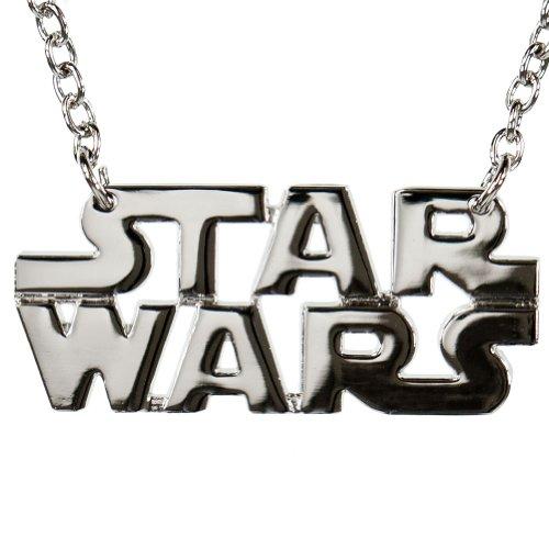 Star Wars - Logo Chrome Necklace