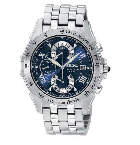 Seiko Men's Le Grand Sport Dual Chronograph Watch #SPC043