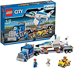 Lego City - 60079 - Jeu De Construction - Le Transporteur D'avion