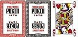 51vTYtW55wL. SL160  WSOP Plastikkarten Poker Index   Farbe: rot (pro Stück)