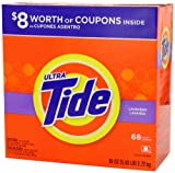 Tide Ultra Lavender Scent Powder Laundry Detergent 68 Loads 95 Oz