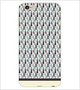 PrintDhaba Bottle Pattern D-1942 Back Case Cover for APPLE IPHONE 6S (Multi-Coloured)
