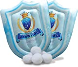 Snowtime Inflatable Snow Shields Game - 2 Snow Shields and 6 Snowballs