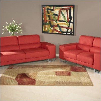Buy low price chintaly imports bayview microfiber sofa and loveseat set bayview s Microfiber sofa and loveseat set