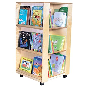 "Wood Designs WD34500 Library and Display Center, 44 x 24 x 24"" (H x W x D)"