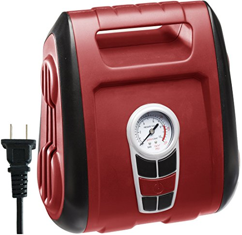 Cartman AC-120V Air Compressor, Heavy Duty Inflator (Air Tire Inflator compare prices)