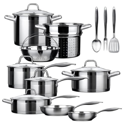 Duxtop Professional Stainless-steel 17-piece