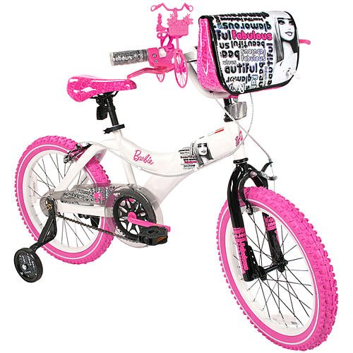 Dynacraft 18 inch BMX Bike - Girls - Barbie
