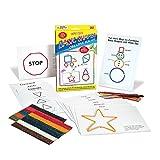 Wikki Stix Basic Shapes Creative Fun Kit