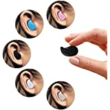 SeCro™ Mini Bluetooth V4.0 Invisible Ultra Small Bluetooth 4.0 Earbud Headset With Microphone, Support Hands-free...