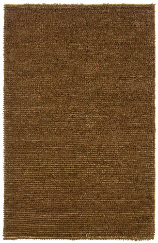 Rizzy Rugs BB0013 5-Foot-by-8-Foot Bubble Area Rug, Shag Gold / Multi