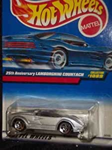 hot wheels 1089 25th anniversary lamborghini countach mattel 1 64 scale collectible. Black Bedroom Furniture Sets. Home Design Ideas