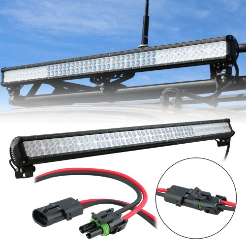 """Lamphus Cruizer 44"""" 288W Cree Led Off Road Truck Vehicles Work Light Bar (Other Sizes Available) - Flood/Spot Combo"""