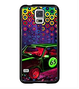 Fuson Premium 2D Back Case Cover Stylish Car With Multi Background Degined For Samsung Galaxy S5 Mini::Samsung Galaxy S5 Mini G800F