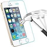 iPhone-5S-5-5C-Protection-écran en Verre Trempé , Bingsale Film Protection d'écran en Verre Trempé pour iPhone 5S 5 5C (iPhone 5S 5 5C)