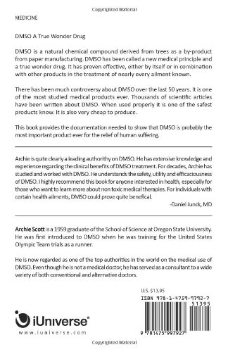 The Dmso Handbook for Doctors
