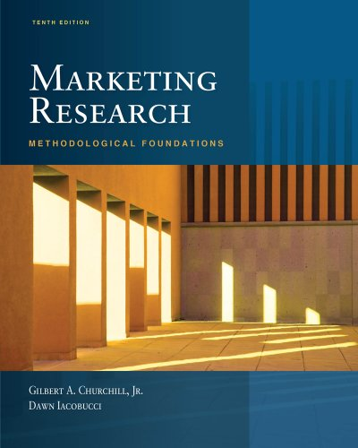 Marketing Research: Methodological Foundations (Book Only)