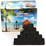 NeverXhale 100% Natural Coconut Charcoal for Hookah Shisha - 108 Pieces