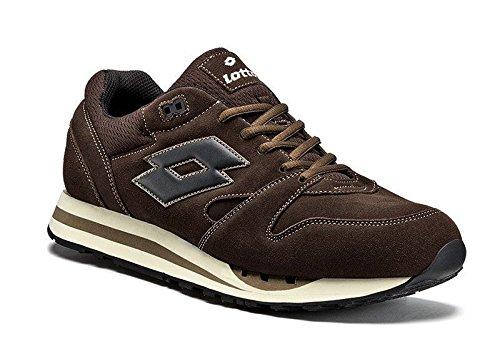 Lotto - Scarpe Sneakers Uomo Ragazzo Sport Running Comfort Art Trainer Iv - Colore: Marrone - 44