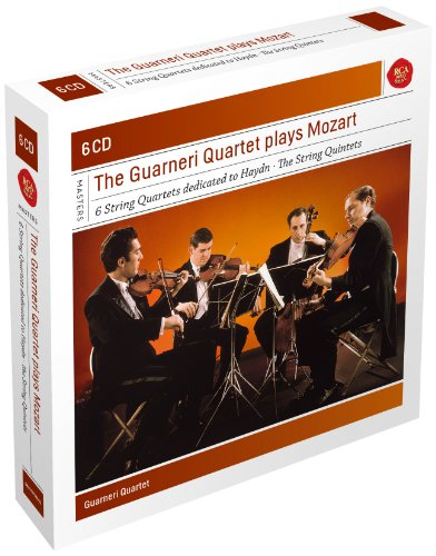 Mozart:The Guarneri Quartet plays String Quartets and Quintets