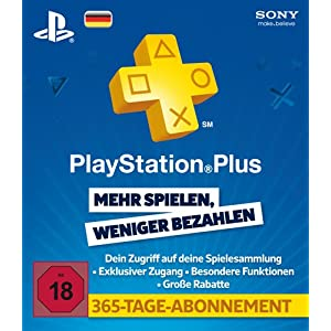Playstation Plus Live Card
