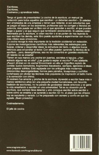 Libro la cocina de la escritura the kitchen of writing - La cocina de la escritura ...