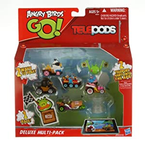 Angry Birds - Go! Telepods Deluxe Multi Pack W1