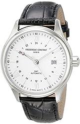 Frederique Constant Men's FC350S5B6 Classics Analog Display Swiss Automatic Black Watch