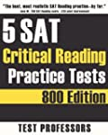 5 SAT Critical Reading Practice Tests