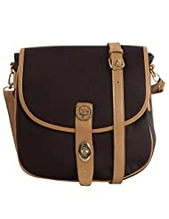 Lino Perros Women's Sling Bag (Brown) - B017LR9INY