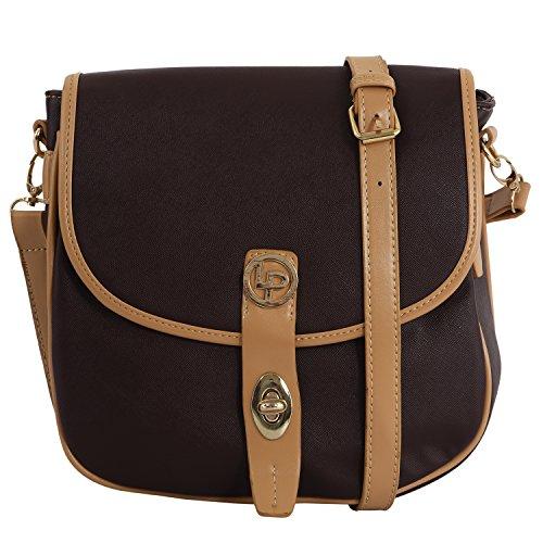 Lino Perros Women's Sling Bag (Brown) - B017LR9INY